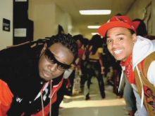 T-Pain samen met Ace Hood en Busta Rhymes