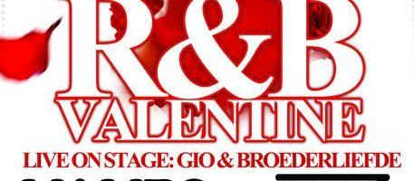 GIO live bij R&B Valentine in Mambo Almere