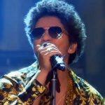 Bruno Mars en Justin Timberlake bij 'Wetten Dass'