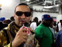 French Montana was geen doelwit