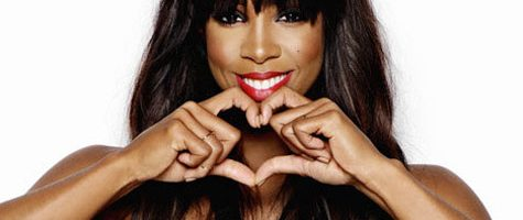 Kelly Rowland presenteert Red carpet show