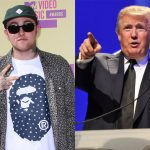 Donald Trump boos op Mac Miller