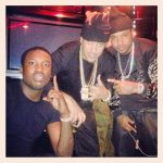 Tourbus French Montana en Meek Mill beschoten?