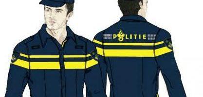 Nieuw politie-uniform in 2014