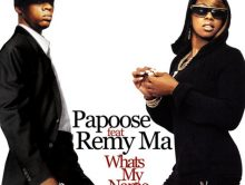 Papoose dropt track met Remy Ma
