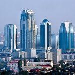 Update: Hoog gebouw in Rusland in brand