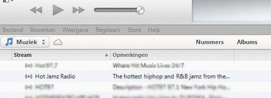 Hot Jamz Radio beluisteren via iTunes!