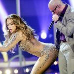 Jennifer Lopez in de studio met French Montana