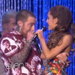 Ariana Grande en Mac Miller live bij Ellen