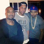 Kanye West viert verjaardag met Jay-Z, Beyonce & Nas