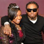 Dochter Lil Wayne is 'Daddy's Little Girl'