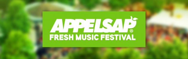 Appelsap Fresh Music Festival 2015 gaat door