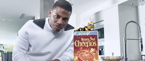 Nelly in nieuwe commercial voor ontbijtgranen