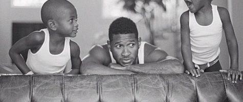 Usher bedankt redders van zijn zoon