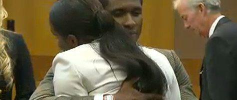 Usher behoudt voogdij kinderen