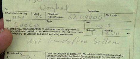 """""""50 euro boete voor bellende Pool is hoax"""""""
