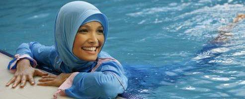 Moslima (13) moet toch zwemmen
