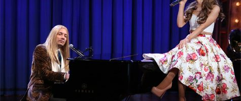 Ariana Grande doet musical raps