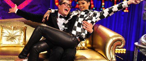 Rihanna doet 'What Now' live bij Chatty Man