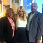 Tamar Braxton live in Good Morning America