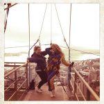 Beyonce doet freefall in Nieuw Zeeland