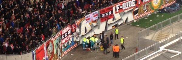 Ajax-supporter gewond na val in ArenA