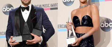Justin Timberlake en Rihanna grote winnaars American Music Awards