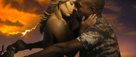 Kanye West dropt 'Bound 2' video met Kim K.