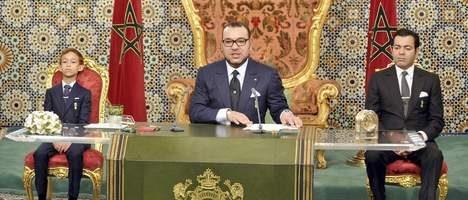 Koning Marokko boos op agent