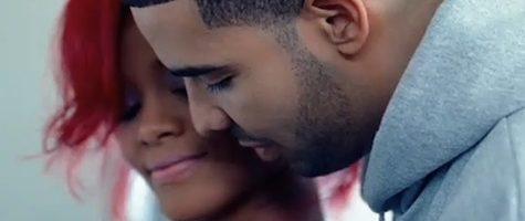 Drake feliciteert Rihanna met groot billboard