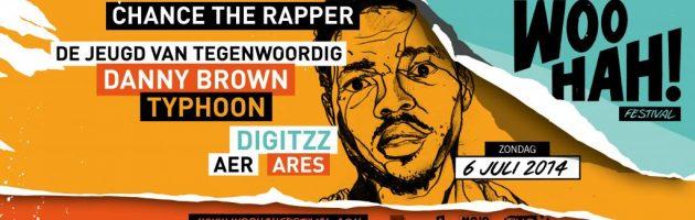 Grote namen op hiphopfestival WOO HAH