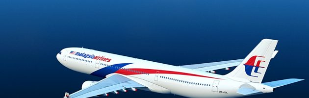 Vliegtuig Malaysia Airlines verdwenen