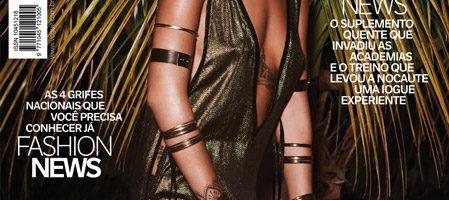 Rihanna gaat topless voor Vogue