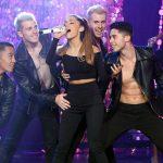 Sexy Ariana Grande doet 'Problem' live