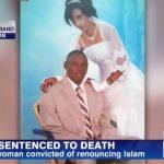 Vrouw krijgt doodstraf door geloof