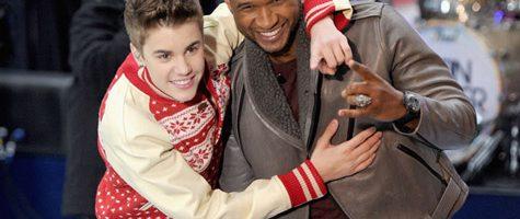 Usher neemt het op voor Justin Bieber
