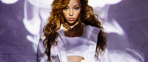 Tinashe topless in V Magazine