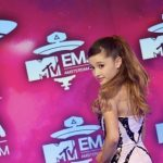 Ariana Grande live bij Voice Of Holland