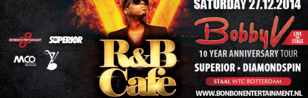 Bobby V viert '10 year party' met R&B Cafe