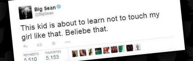 Big Sean woedend op Justin Bieber