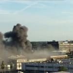 Grote brand in muziekcentrum Melody Line Amsterdam