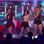Fifth Harmony en Kid Ink live bij Jimmy Kimmel