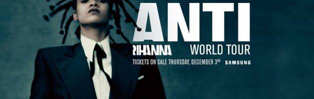 Concert Rihanna in Amsterdam verplaatst