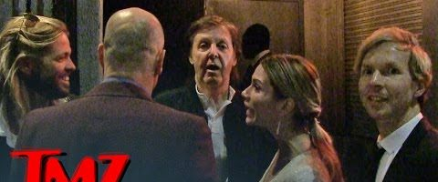 Paul McCartney geweigerd bij Grammy-afterparty