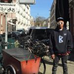 Pharrell in Amsterdam voor eigen bedrijf