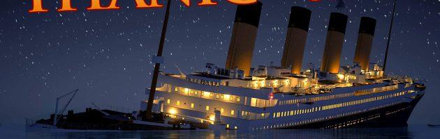 Animatie laat zinken Titanic in real-time zien