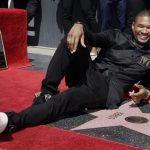 Usher krijgt ster op Walk Of Fame