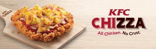 KFC brengt pizza van kipfilet verder op de markt