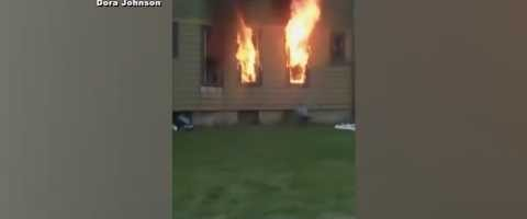 BIZAR: vrouw steekt huis in brand na ruzie, man dood