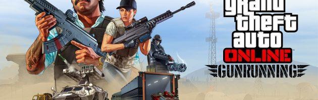 GTA brengt nieuwe gamemode Gunrunning uit